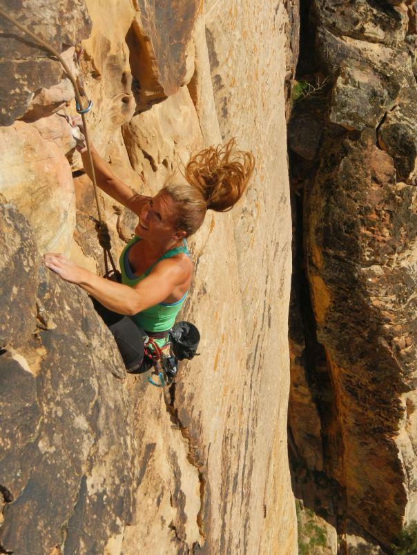 Climbing Prophesy Wall