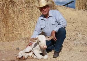 Cliven Bundy - Photo Courtesy of The Spectrum, Bundy Sadles Up