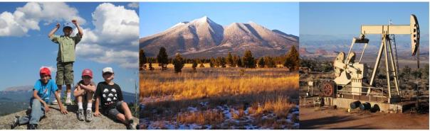 Summer Camps & Education, Wilderness & Open Space Preservation, and Energy Development on Public Lands