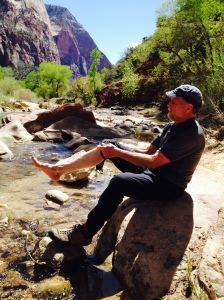 Cooling off in the Virgin River