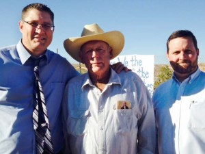 Cliven Bundy & Bryan Hyde (right), Photo courtesy of www.truthaboutguns.com