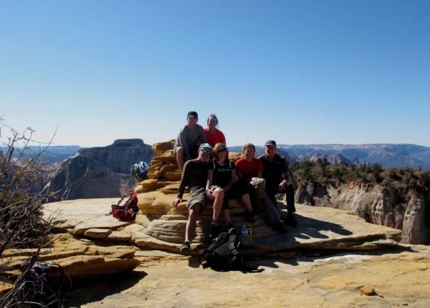 Top of the world with Bo Beck and friends