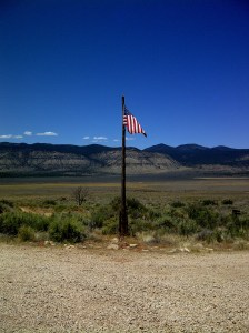 Tuweap Ranger Station, Federal Land