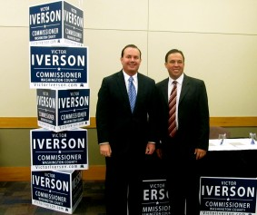 Mike Lee and Victor Iverson, Photo courtesy STGnews