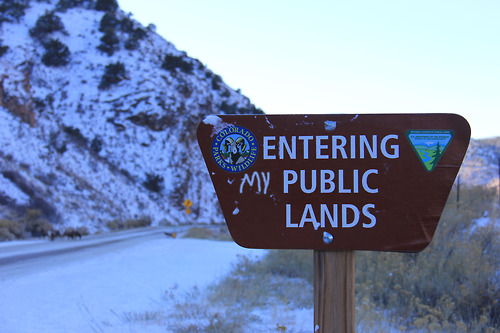 Entering (my) Public Lands