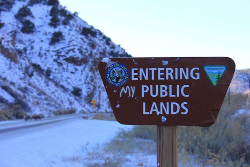 Entering (my) Public Lands