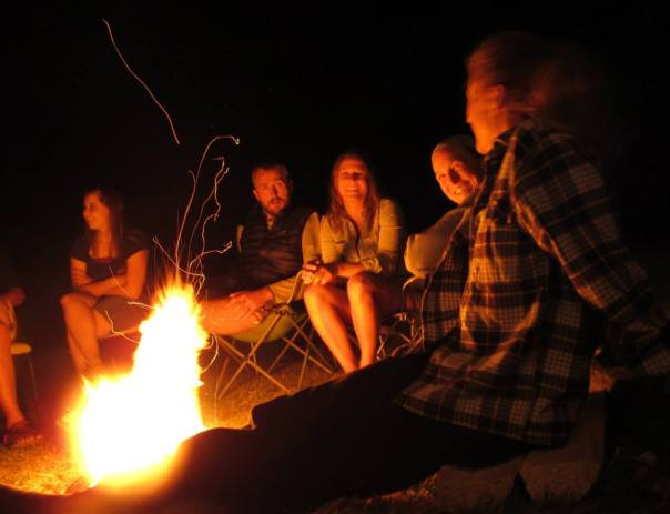 Bonfire merrymaking 2
