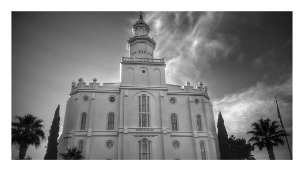 Made by man, St. George LDS Temple