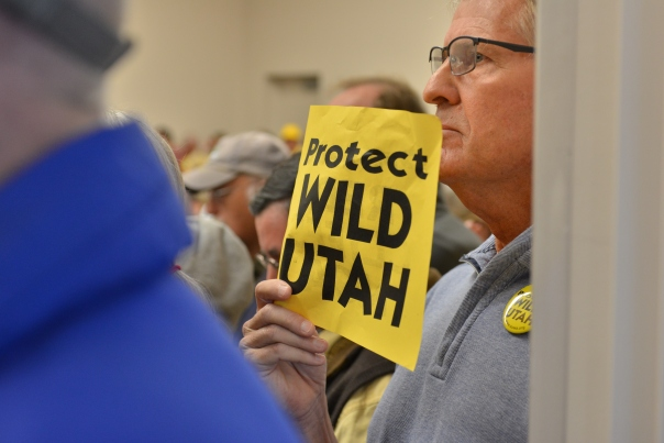 St. George hearing on congressional subcommittee for public lands January21, 2016. Photo by Dallas Hyland
