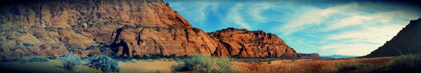 Snow Canyon Panoramic 1